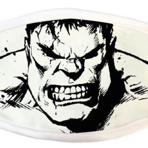 02026 Hulk Blanco y Negro