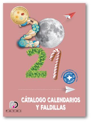 Catalogo calendarios 2021